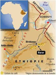 Carte Harar